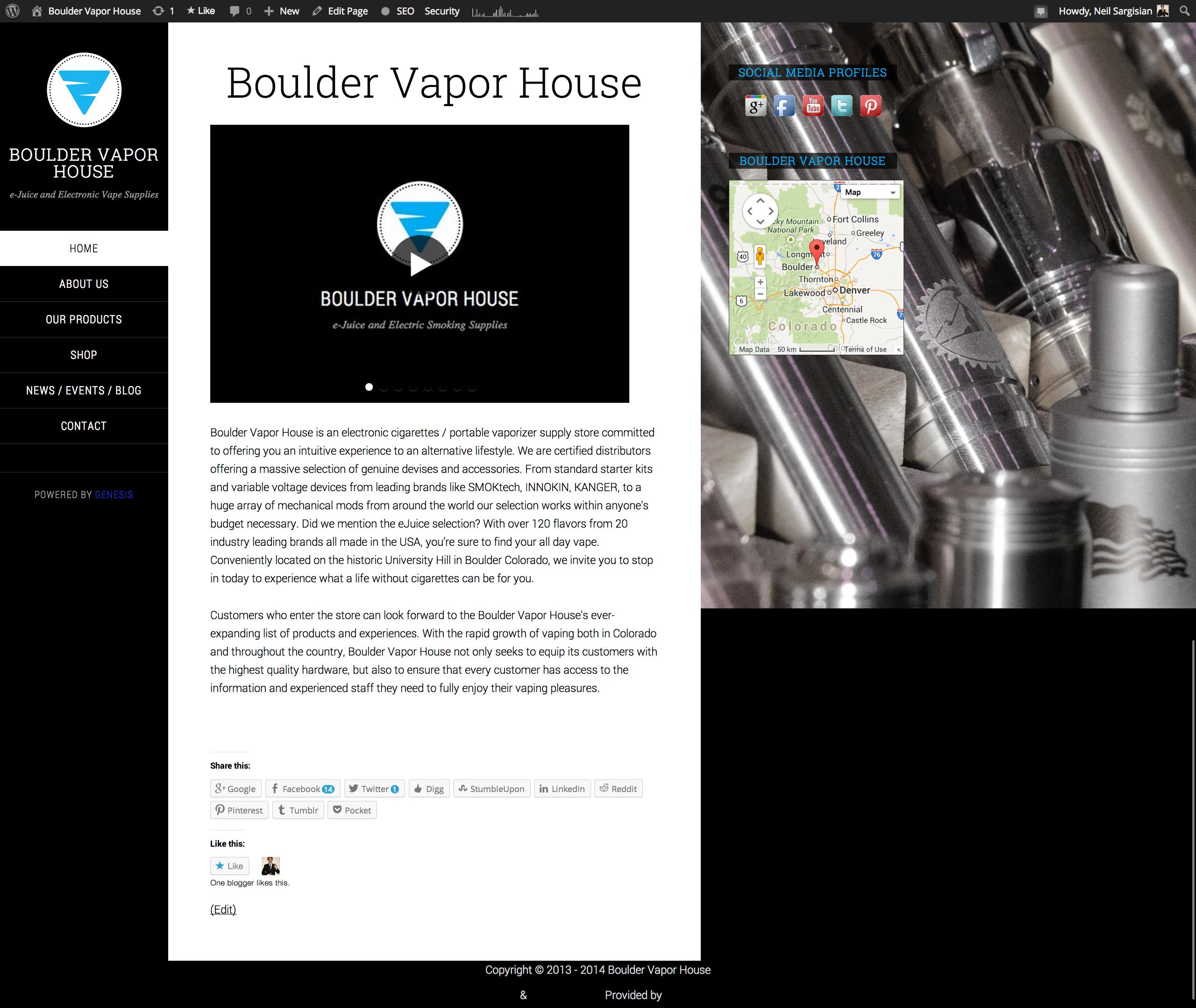 Boulder Web Designer