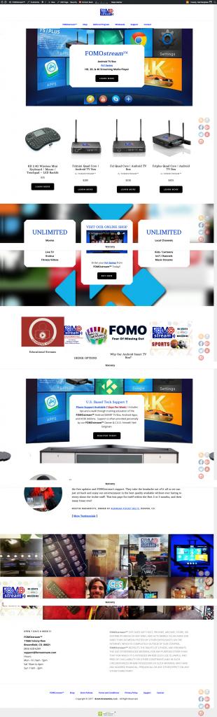 FOMOstream™ Android TV Box