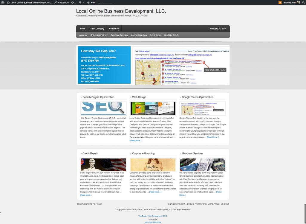 Local Online Business Development LLC.